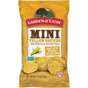 Garden Of Eatin Mini Yellowrounds Corn Chips 212G