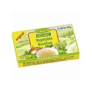 Rapunzel Vegetable Bouillon Cubes Orig 84G