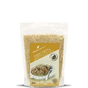 Ceres Organics Brown Rice Short Grain 500G