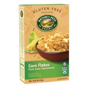 Natures Path Corn Flakes Fruit Juice Sweetened 300G