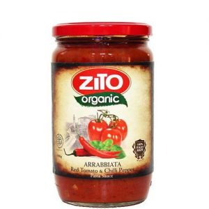 Zito Organic Pasta Sauce Arrabbiata (Red Tomato & Chilli Pepper) 690G