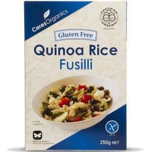 Ceres Organics Rice & Quinoa Fusilli 250G