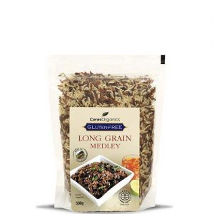 Ceres Organics Rice Medley Long Grain 500G