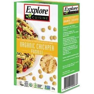 Organic Explore Cuisine Chickpea Fusilli 250G