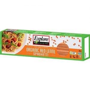 Organic Explore Cuisine Red Lentil Spaghetti 250G