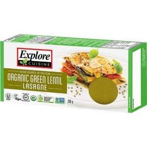 Organic Explore Cuisine Green Lentil Lasagna 250G