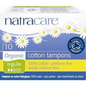 Natracare Cotton Tampons Regular 10
