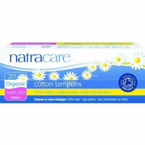 Natracare Cotton Tampons Super Plus 20