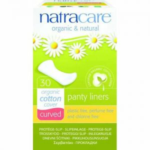Natracare Panty Liner Curved 30