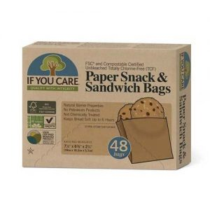 If You Care Paper Sandwich Bags 48 Bags