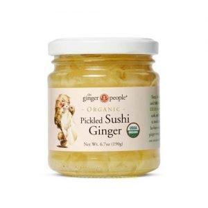 The Ginger People Pickled Sushi Ginger 190G