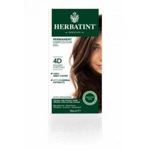 Herbatint Hair Colour Golden Chestnut 4D