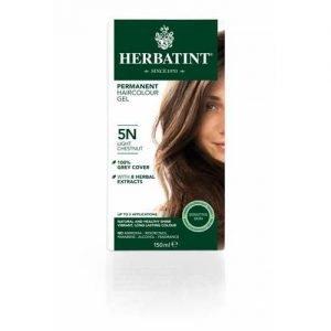 Herbatint Hair Colour Light Chestnut 5N 150ML