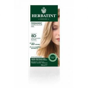 Herbatint Hair Colour Light Golden Blonde 8D