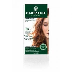 Herbatint Hair Colour Light Copper Blonde 8R