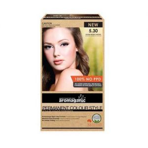 Aromaganic Hair Colour Gold Brown 5.30