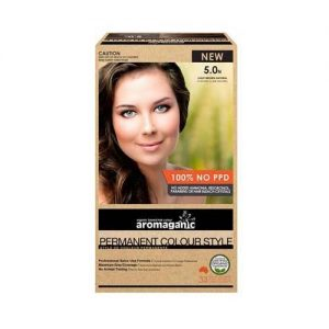 Aromaganic Hair Colour Light Brown 5.0