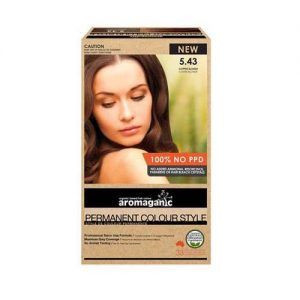 Aromaganic Hair Colour Copper Blond 5.43