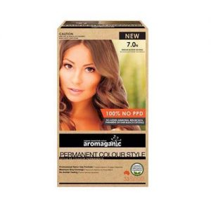 Aromaganic Hair Colour Med Blonde 7.0