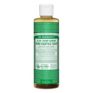 Dr Bronner Almond Castile Soap 236ML