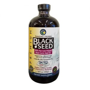 Amazing Herbs Black Seed Oil 473ML