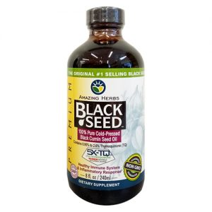 Amazing Herbs Black Cumin Seed Oil 240ML