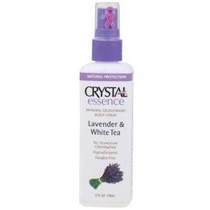 Lavender & White Tea Crystal Essence Lavender Deodorant Spray 118ML