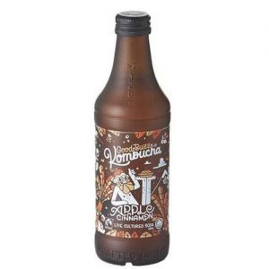 Good Buzz Apple Cinnamon Kombucha 330ML