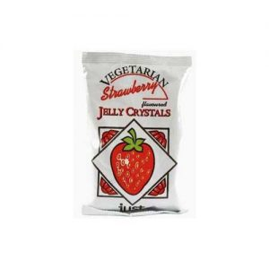 Just Whole Foods Jelly Crystals Strawberry 85G