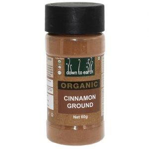 Down To Earth Cinnamon Ground 60G