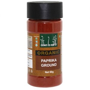Down To Earth Paprika Ground 60G