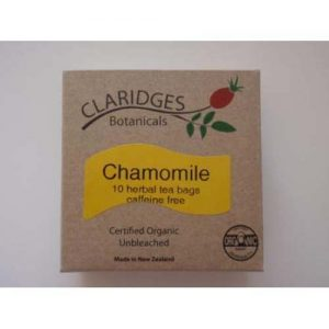 Claridges Botanicals Chamomile Tea 10 Bags