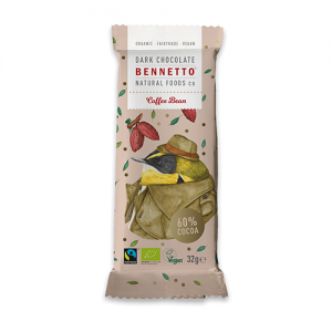 Bennetto Natural Foods Coffee Bean Chocolate 30G