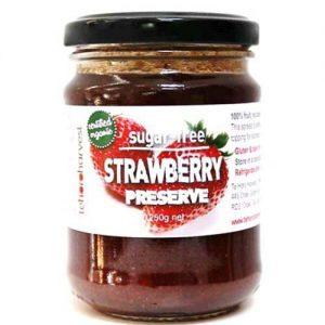 Te Horo Harvest Sugar Free Strawberry Preserve 250G