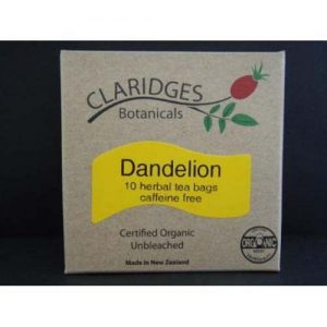 Claridges Botanicals Dandelion Tea 10 Bags