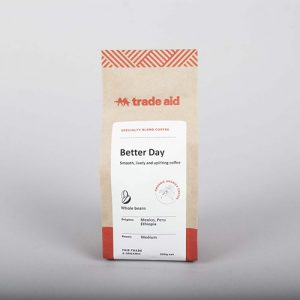 Trade Aid Better Day Coffee Beans 200G