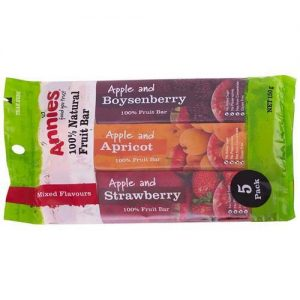Annies Fruit Bars Mixed 5Pk