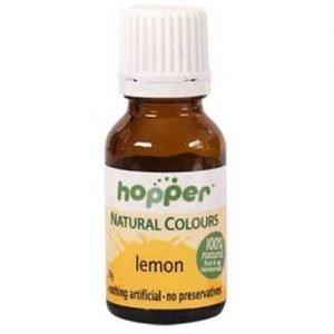 Hopper Natural Colouring Yellow 20G