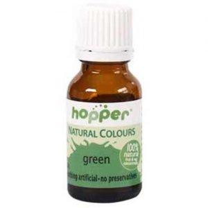 Hopper Natural Colouring Green 20G