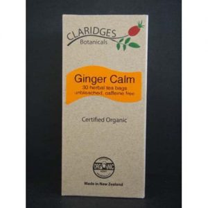 Claridges Botanicals Ginger Calm Tea 30 Bags