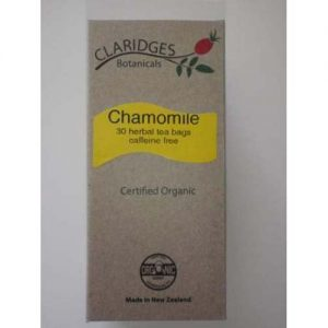 Claridges Botanicals Chamomile Tea 30 Bags