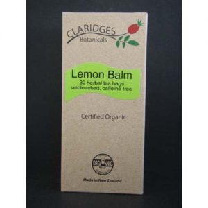 Claridges Botanicals Lemon Balm 30 Tea Bag