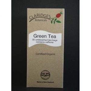 Claridges Botanicals Green Tea 30 Bags