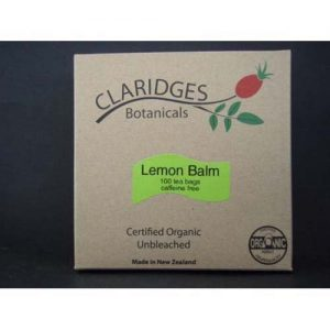 Claridges Botanicals Lemon Balm 100 Tea Bags