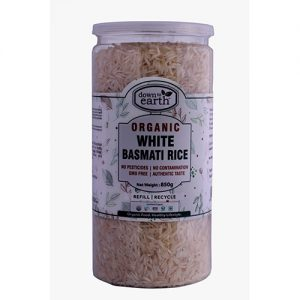 Down To Earth White Basmati Rice 850G