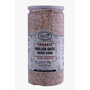 Down To Earth Rolled Oats Quick Cook 500G