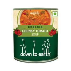 Down To Earth Chunky Tomato Soup 300G