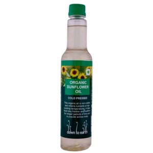 Down To Earth Sunflower Oil Cold Press 500ML