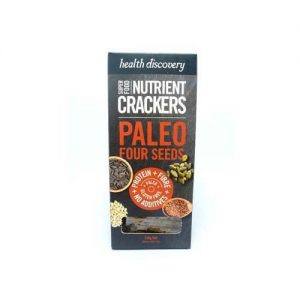 Health Discovery Paleo Four Seeds Crackers 150G