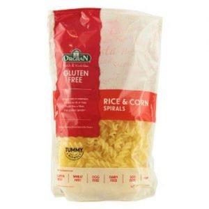 Orgran Pasta Spirals Rice Corn 250G